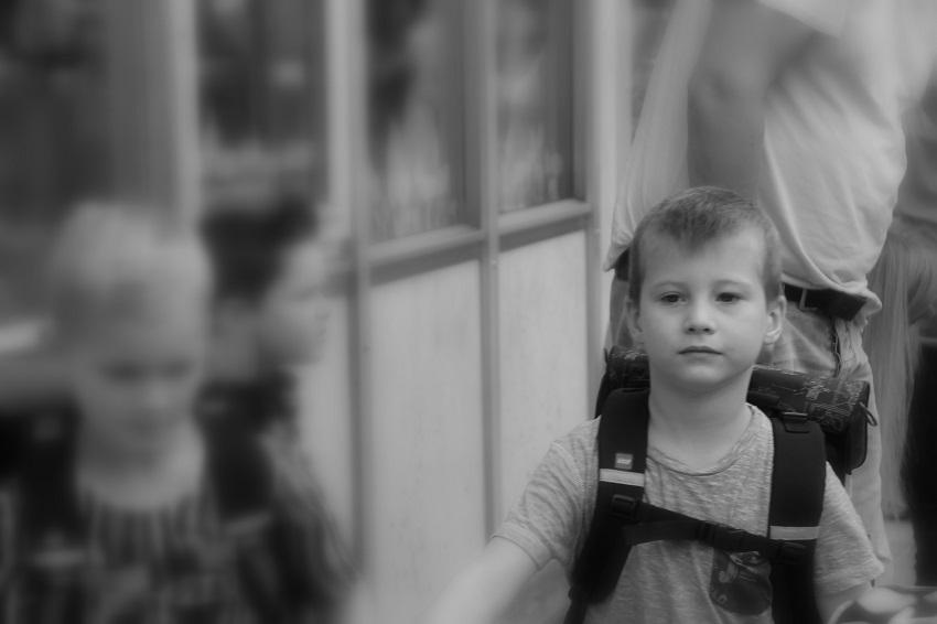 4 Noahs første skoledag