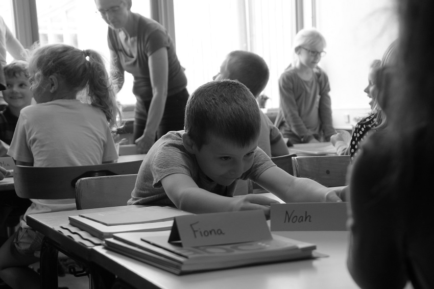 6 Noahs første skoledag