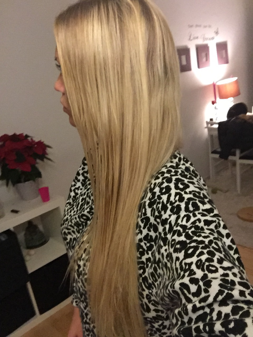 glat hår uden glattejern