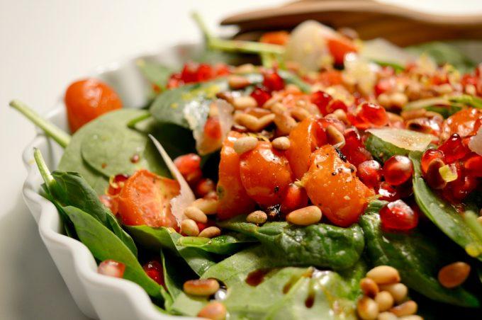 spinatsalat