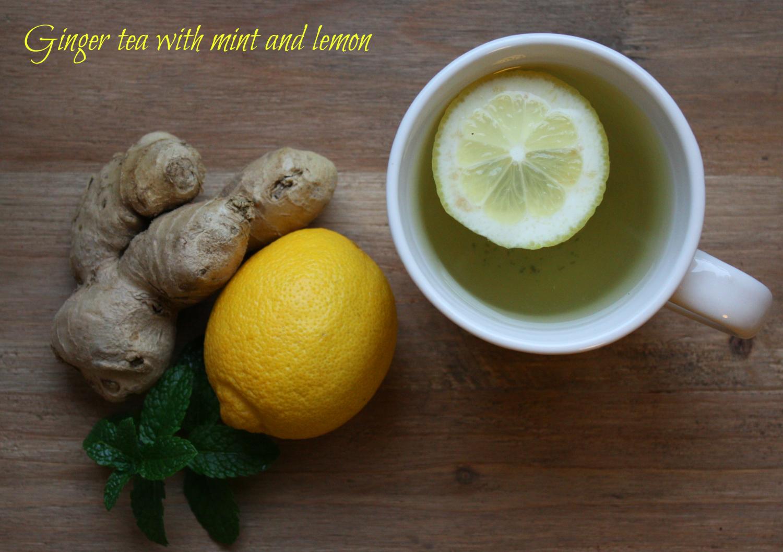 opskrift med ingefær og citron