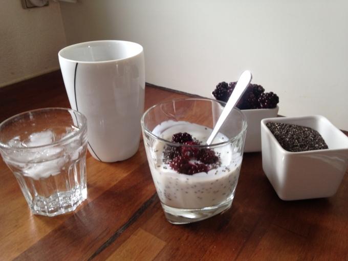 Morgenmad med Chia frø