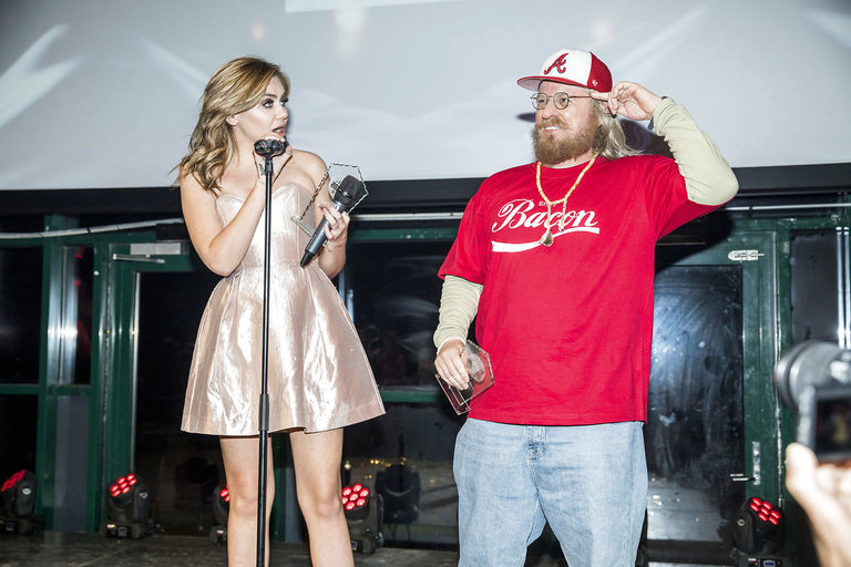 Reportage fra Reality Awards afholdt på Docken d. 12. januar 2018. Fie Laursen og Anden