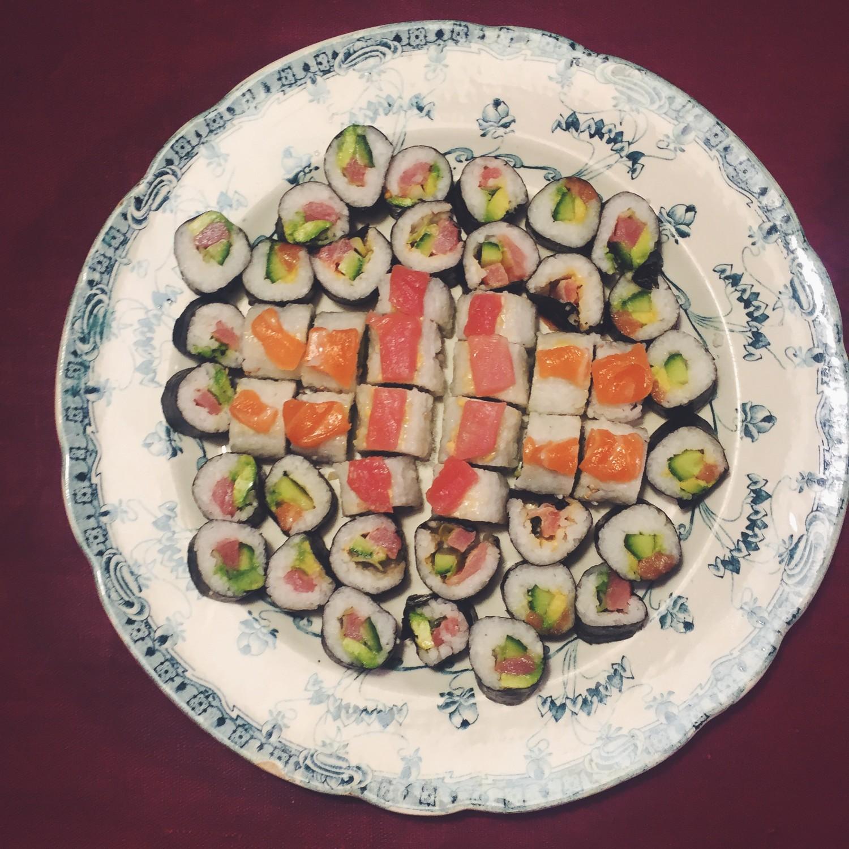 Guide til hjemmelavet sushi