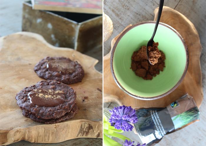 OPskrift på sprøde chokolade-cookies