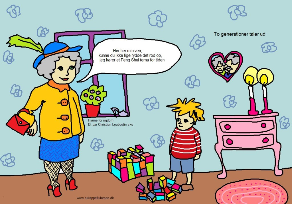 feng-shui-mormor-bjarne-skrappe-fru-larsen-illustration-tegning-tegnestreg-tegnestregen-illustrationer-Maybritt-Laisbo-1024x717