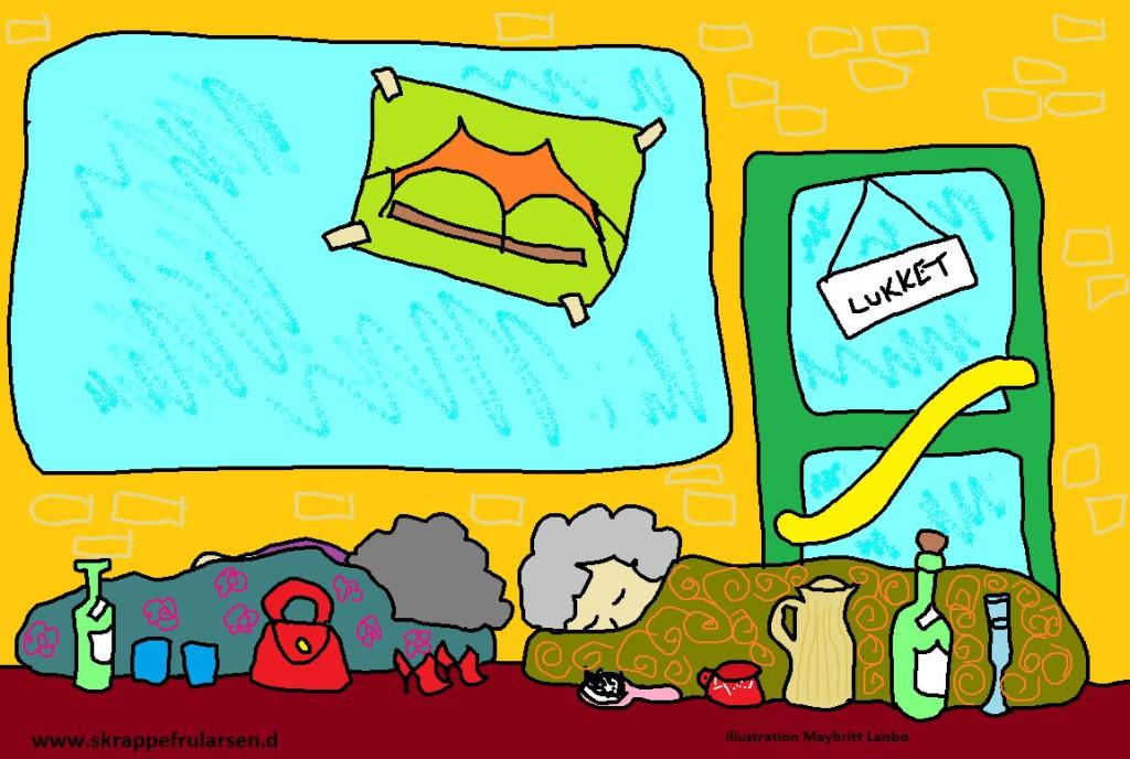 roskilde-festival-mormor-lille-bjarne-tegning-tegnestregen-tegnestreg-illustration-illustrationer-kø-tilbud-1024x688