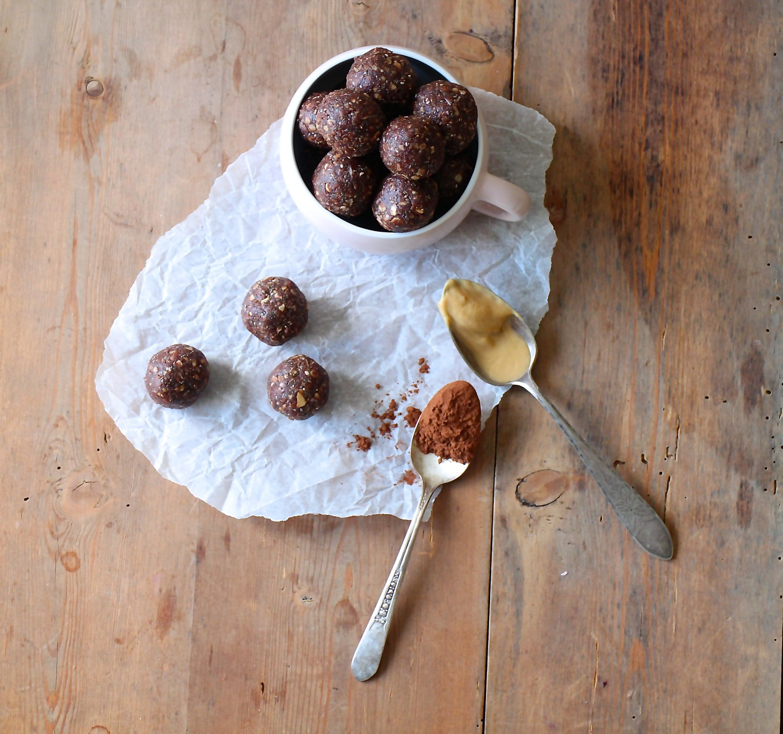 Peanutbutter/chokolade kugler