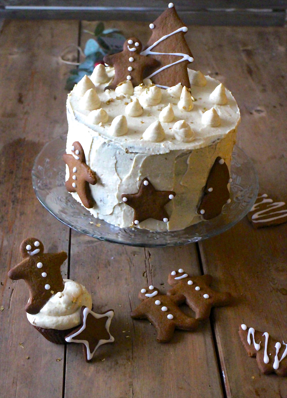 Julet krydderkage med karamel
