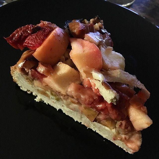 Glutenfri rabarber-æble-drøm