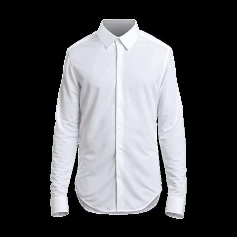 hvid skjorte