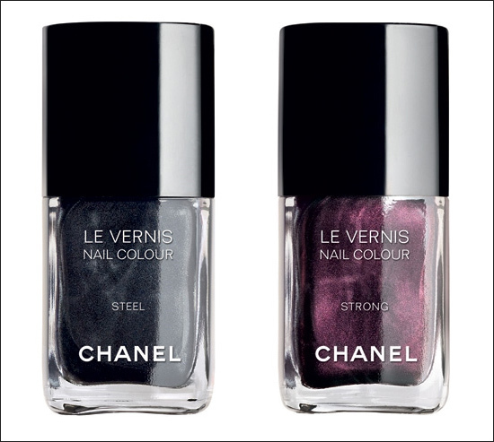 Chanel SoHo Collection Strong Steel neglelak