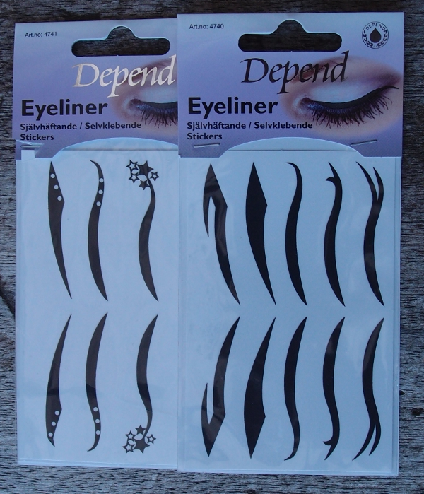 Depend Eyeliner Stickers