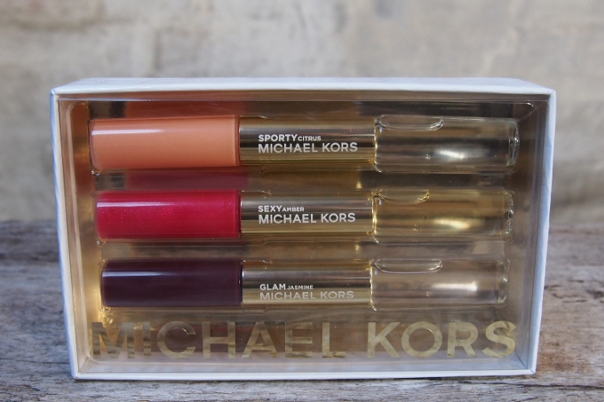 michael kors sporty sexy glam rollerball lip luster gift. Black Bedroom Furniture Sets. Home Design Ideas
