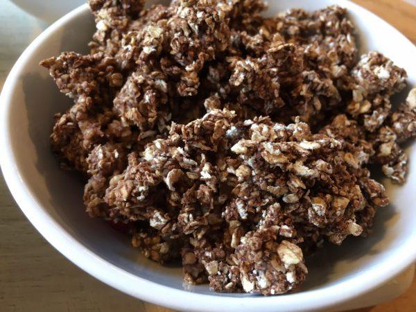 Chokoladebrownie til morgenmad