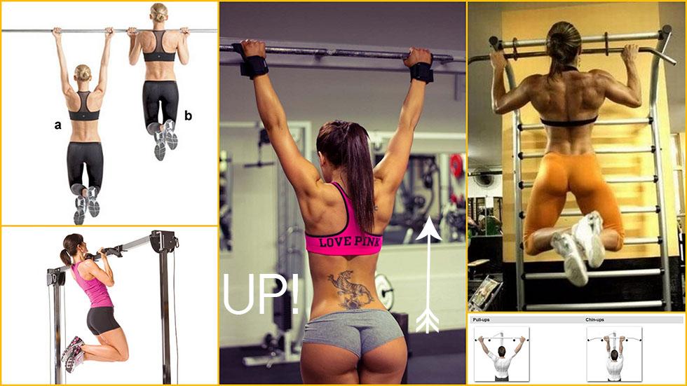 Rectangle body shape diet, pull ups vs chin ups
