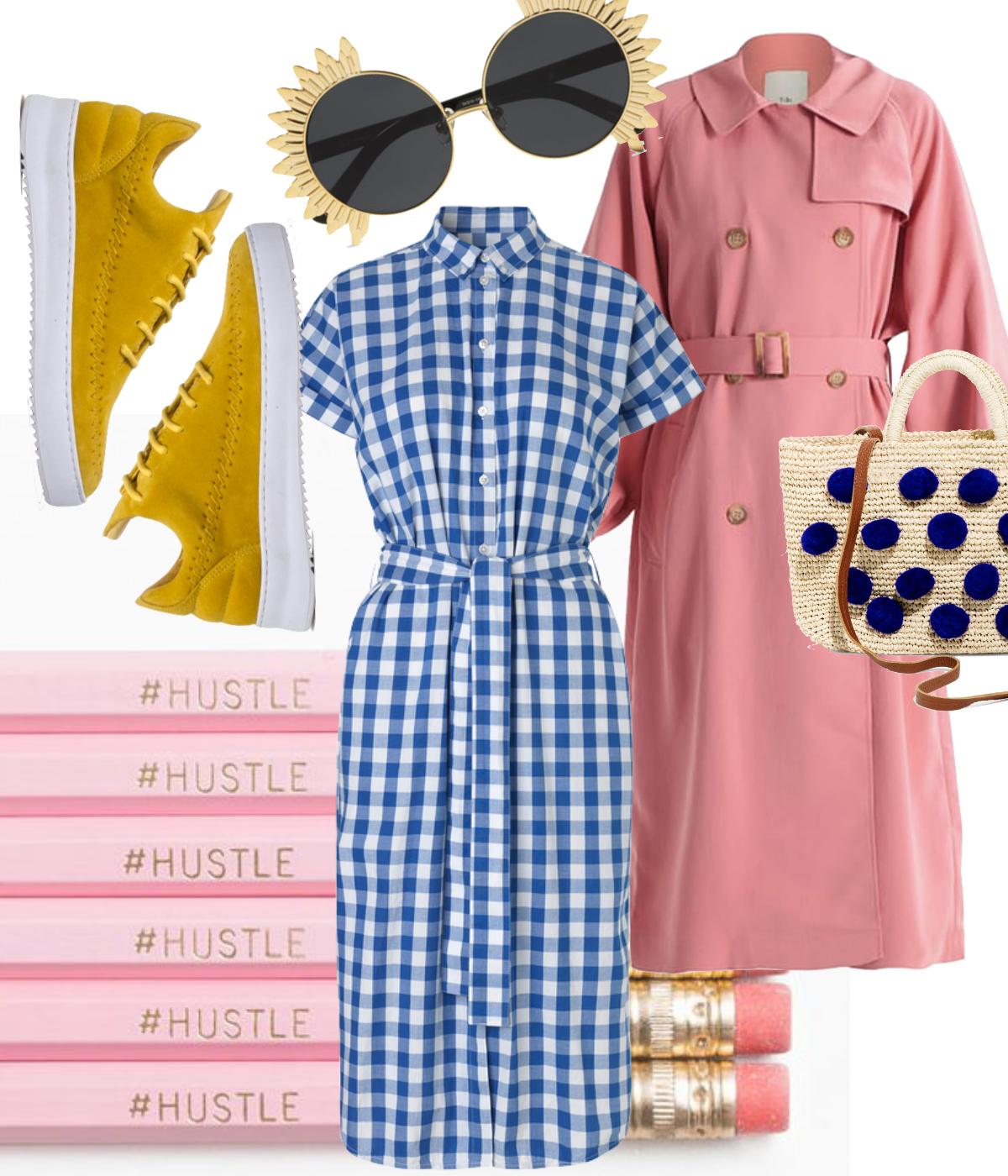 rockpaperdresses. pink onsdag, on wednesdays we wear pink