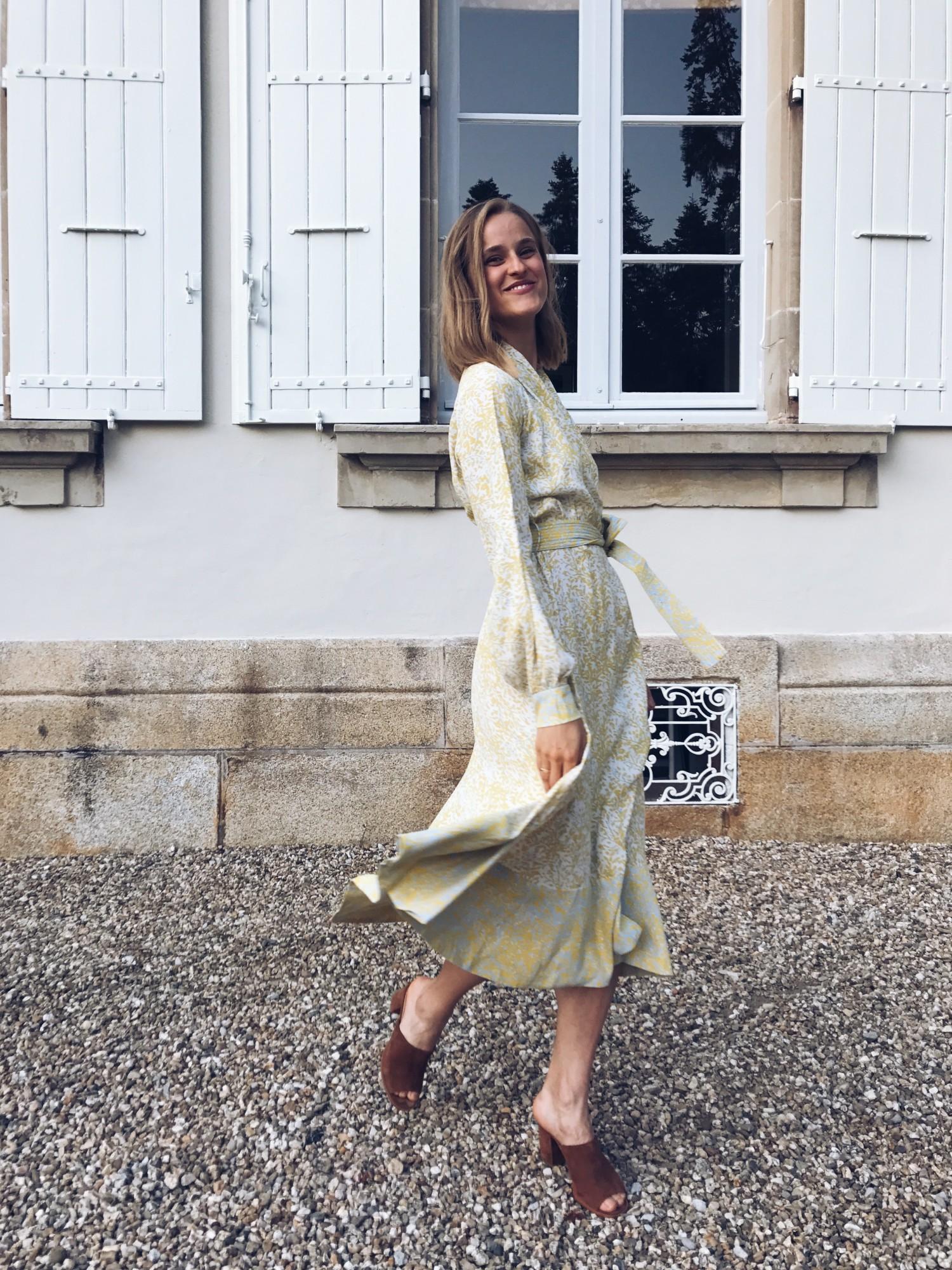 Stine Goya Reflection dress, rockpaperdresses, Cathrine Widunok wichmand