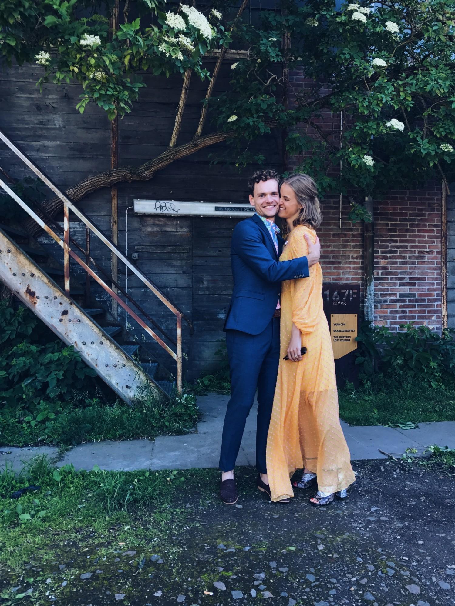 rockpaperdresses, cathrine widunok wichmand, Adam Wichmand, Emily Salomon bryllup