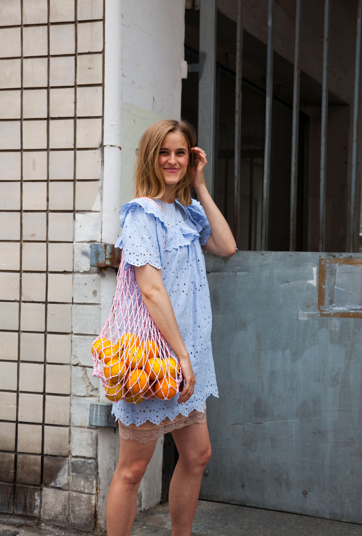 rockpaperdresses, cathrine widunok wichmand, outfit of the day, H&M Conscious Exclusive Net, Julie Bjarnhoff
