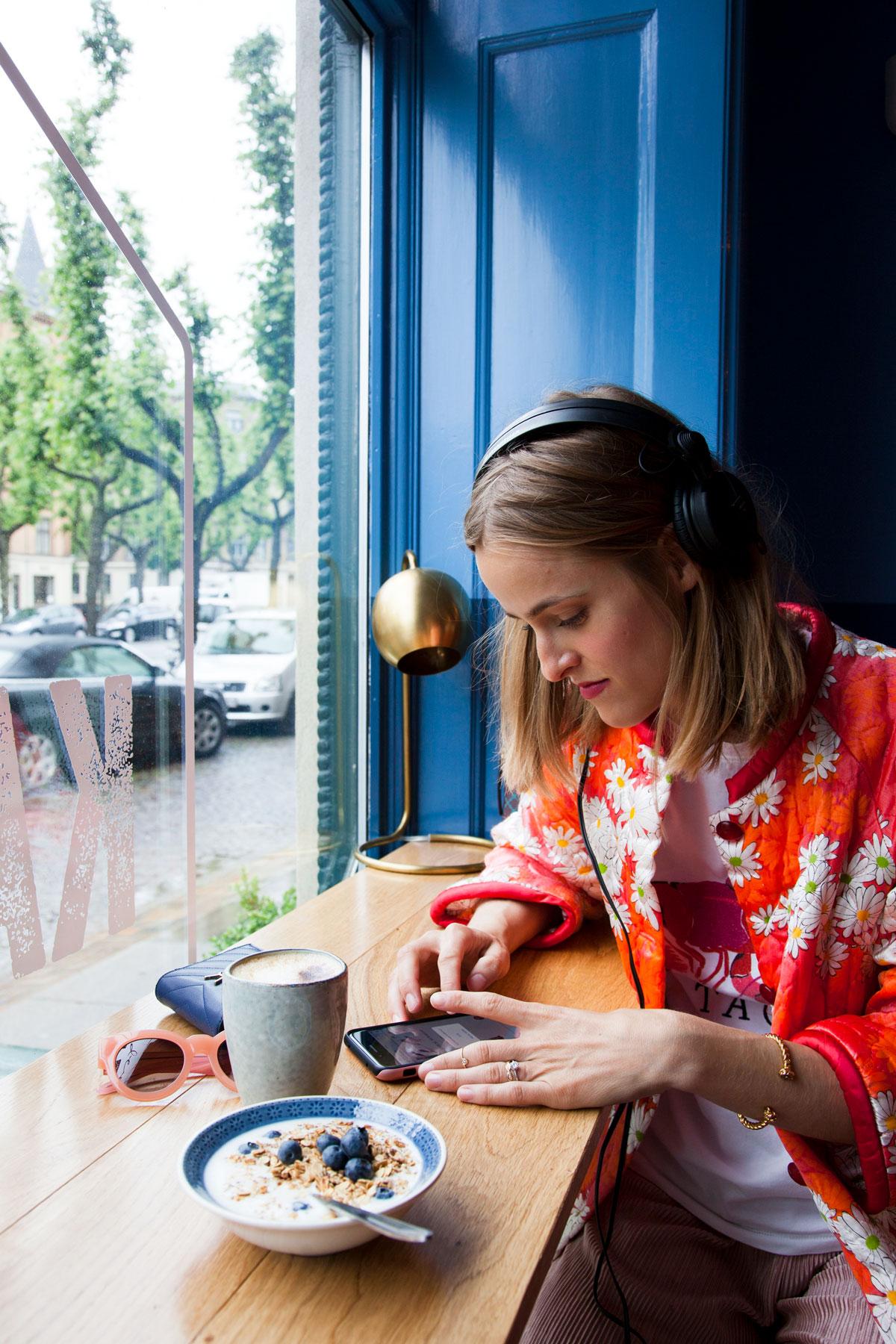 rockpaperdresses, cathrine widunok wichmand, Julie Bjarnhoff, mofibo, den gode kaffe frederiksberg allé