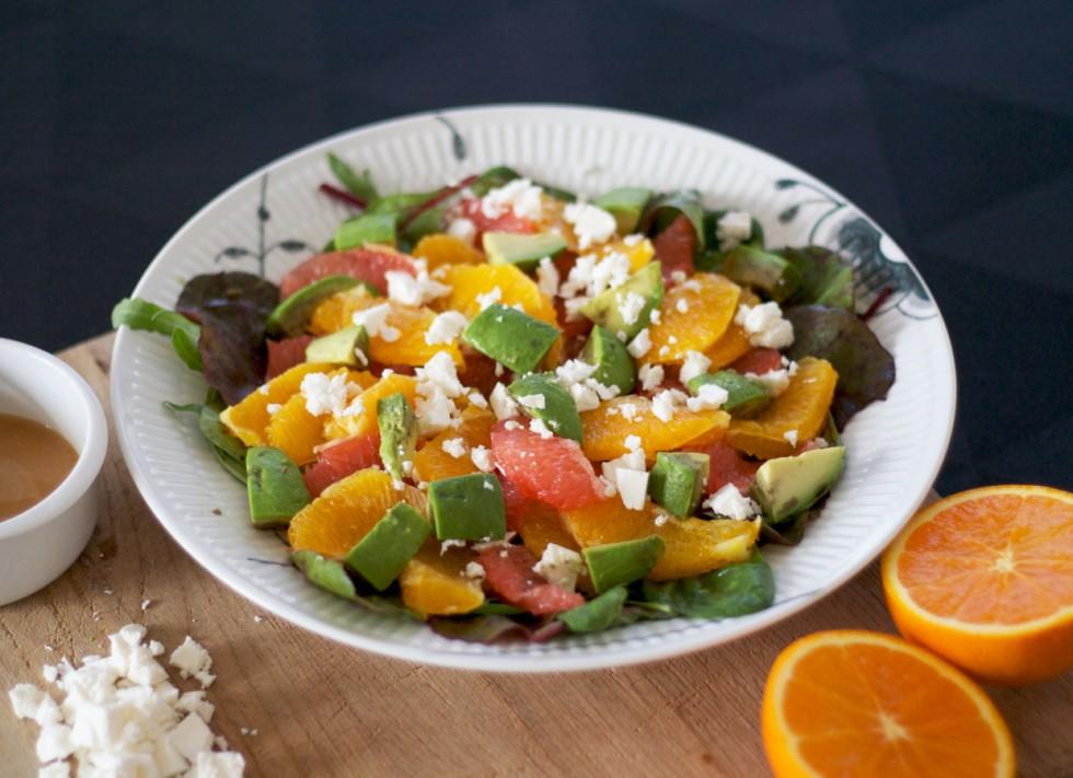 salat-med-grape-appelsin-feta