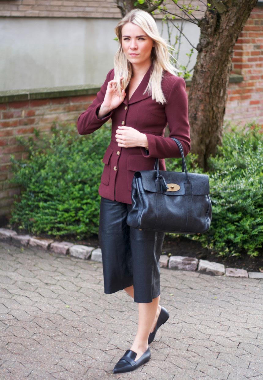 outfit-culottes-Bordeaux-blazer