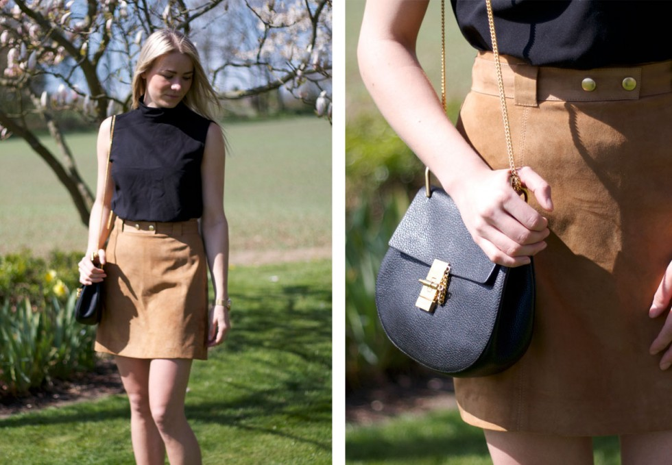 suede-skirt-chloé-drew-bag