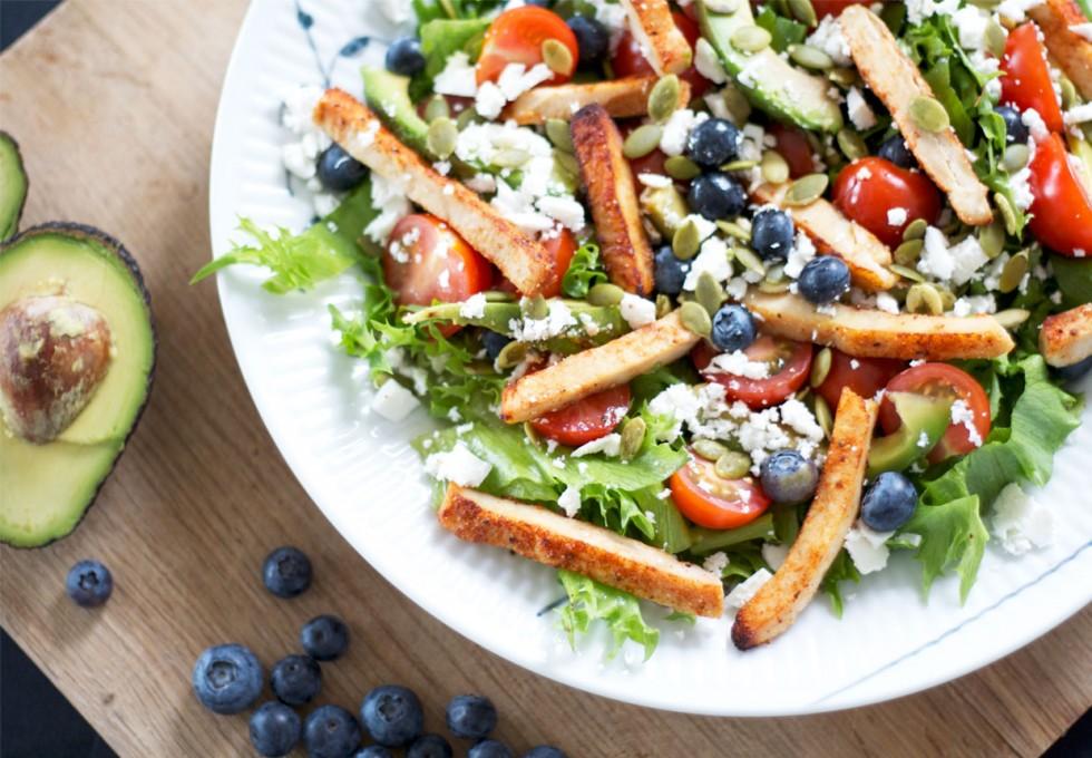 kylling-salat