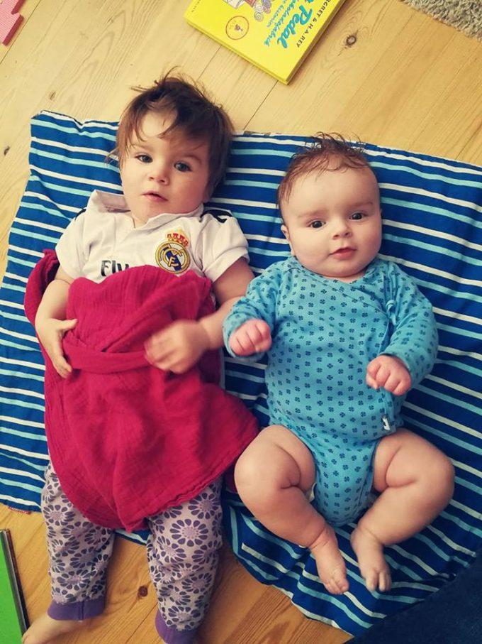 Mine dejlige skønne børn.