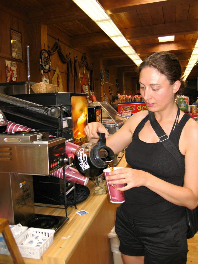 Kaffe i Terlingua