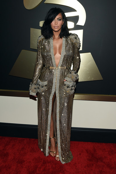 Kim+Kardashian+57th+Annual+GRAMMY+Awards+Red+oSPlO_xDlkpl
