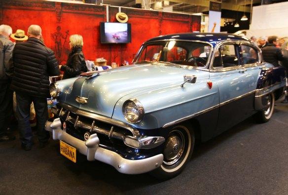 Cuba og gammel bil på Ferie for Alle 2014 foto Marina Aagaard
