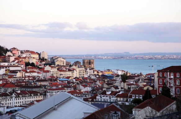Lisboa view evening