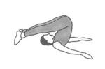 Yoga øvelse ploven Risk exercise plough Marina Aagaard fitness blog
