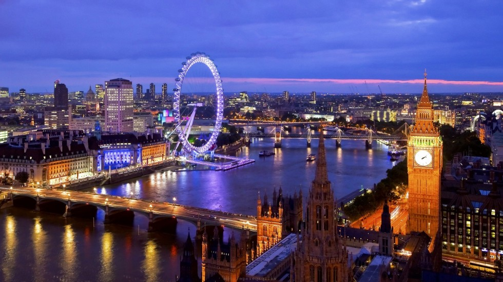 pakkerejser til london