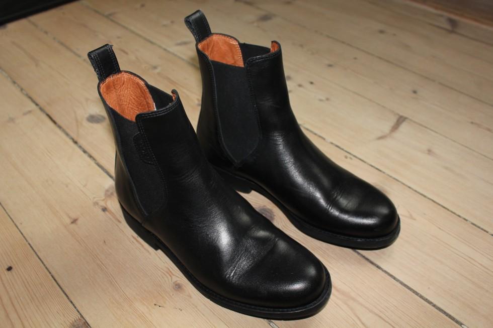 vinterstøvler i læder
