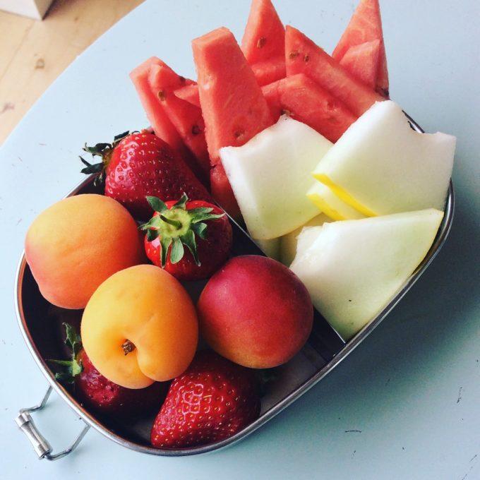 Børn og overvægt, frugt