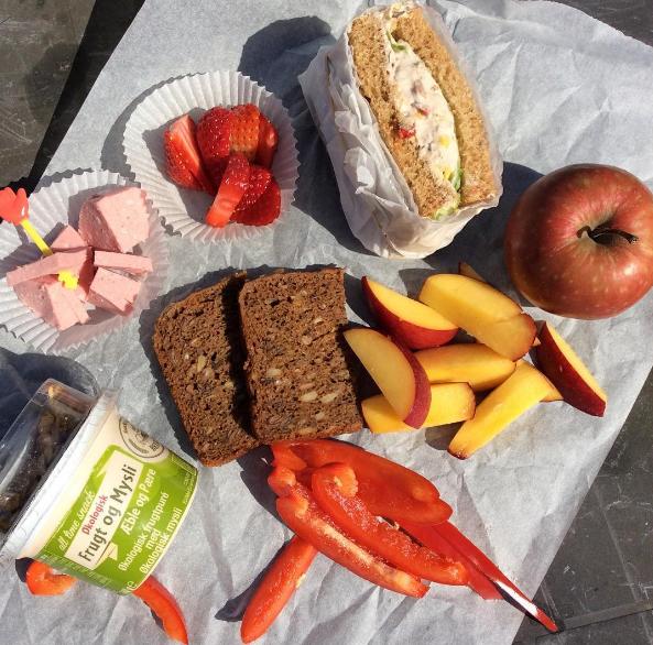 dagens sunde madpakke til børn