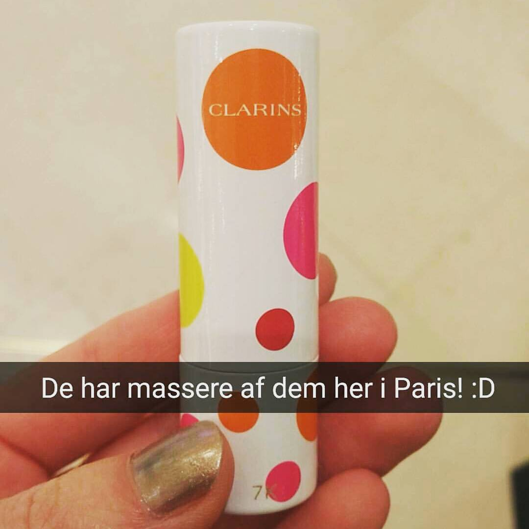 Clarins Daily Energizer Lovely Lip Balm Limites edition
