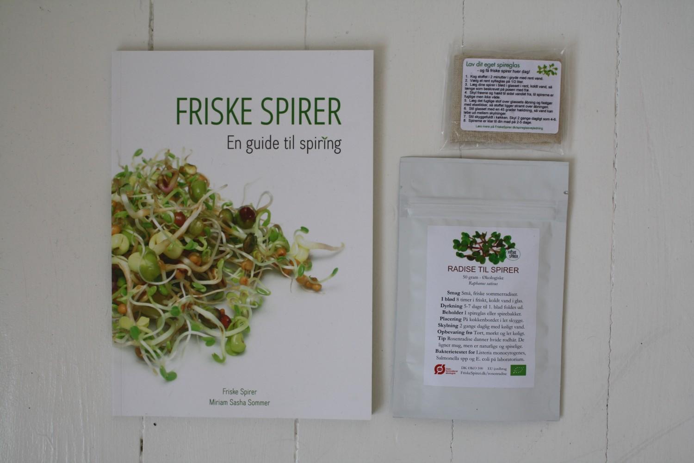 Friske Spirer, en guide til spiring, Miriam Sommer