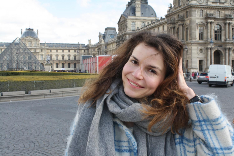 Frk Blomst, Viola Tranelund, Louvre, Paris, kunst