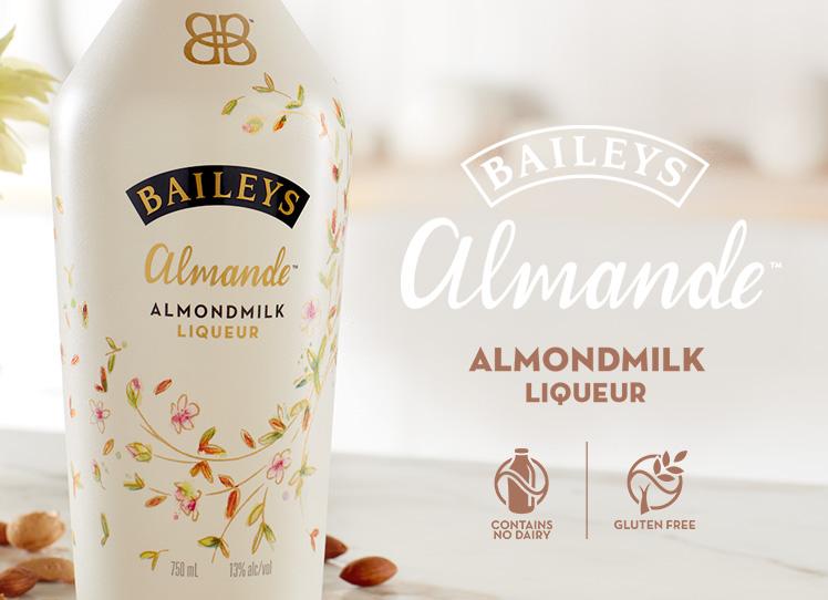 Baileys almond milk mandelmælk