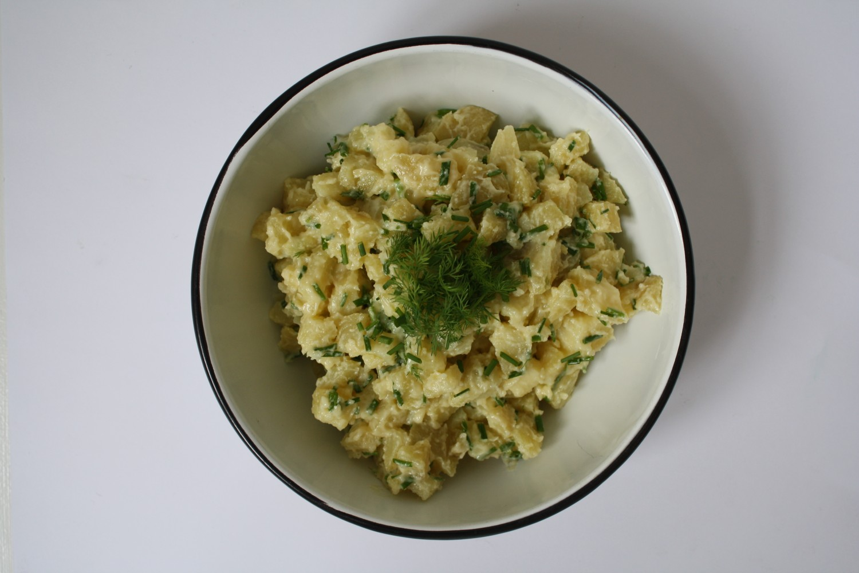 kartoffelsalat, opskrift