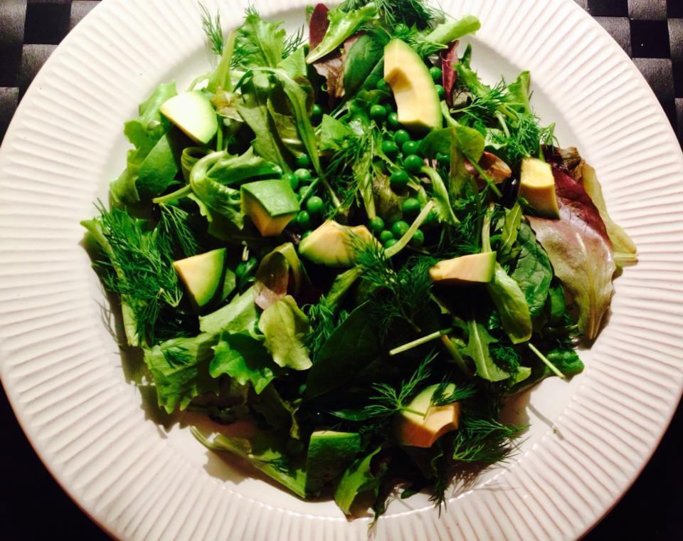 salat til rogn