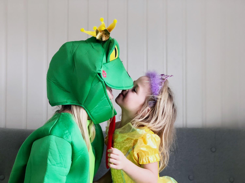 Fastelavns-kostumer-frø-prinsesse