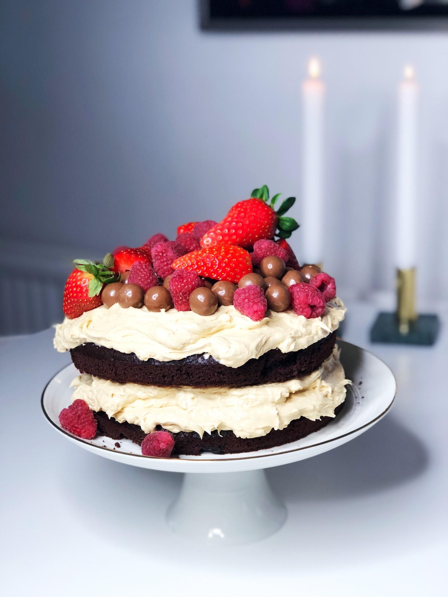 Black magic chokoladekage