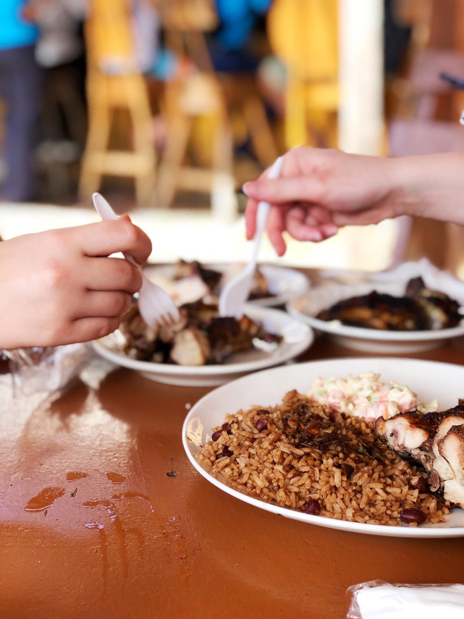 Jamaicansk mad Cruising med Royal Caribbean Jamaica