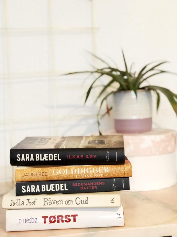Bøger som jeg har læst på det seneste