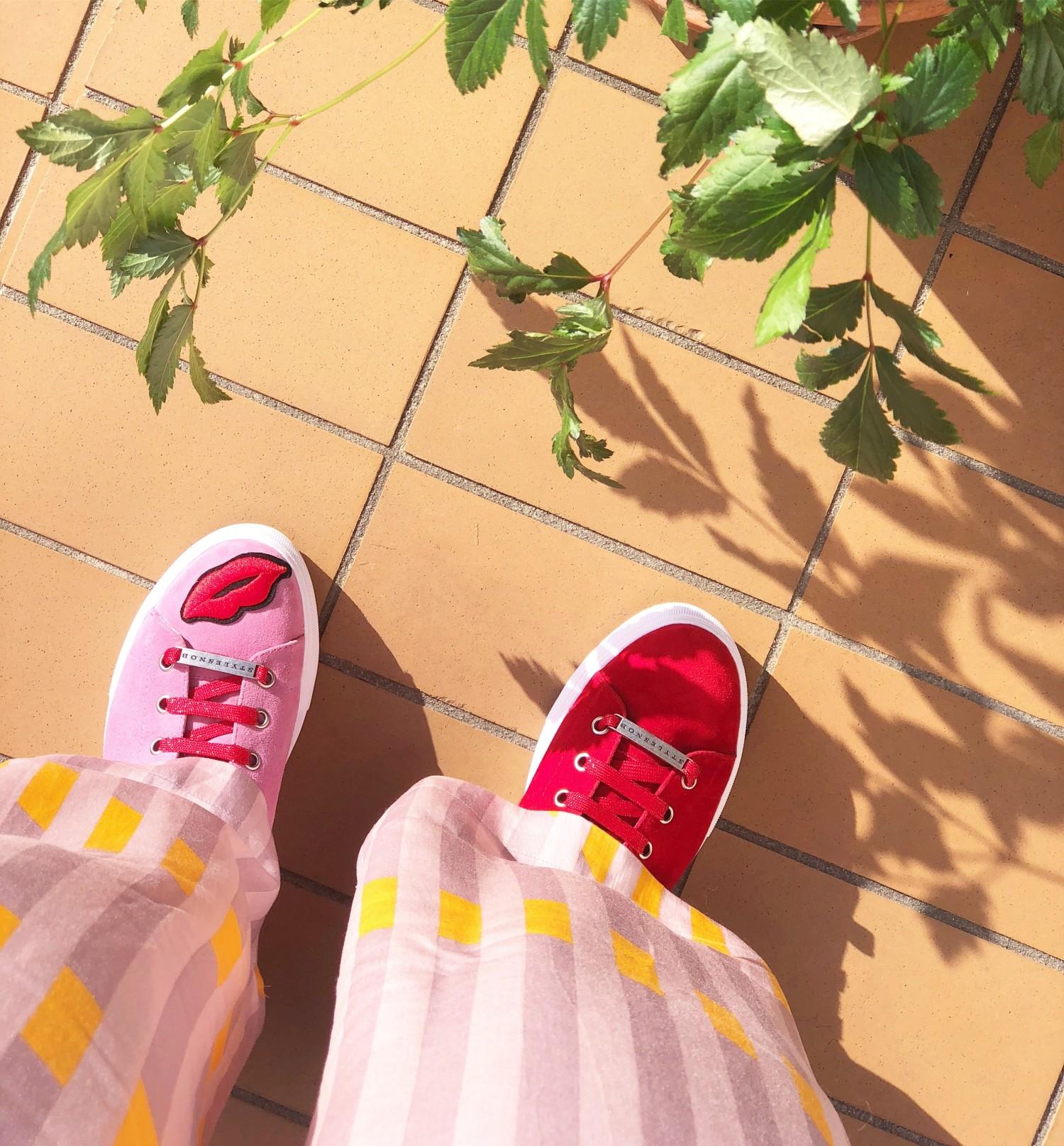 Stylesnob kiss me sneakers